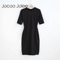 Jocoo Jolee Basic Empire Dress For Women Women Backless Halter Design Slim Knee Length Evening Party