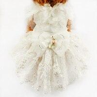 Dog Wedding Dress Tutu Skirt For Dogs 73007 Pet Apparel Clothes Costume XS S M L