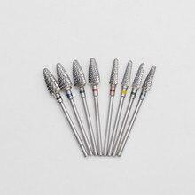 Dentist Lab Burs Tungsten Carbide Nail Drill Bits Machine Nail Cutter Nail File Manicure Carbide Nail Drill Bit недорого