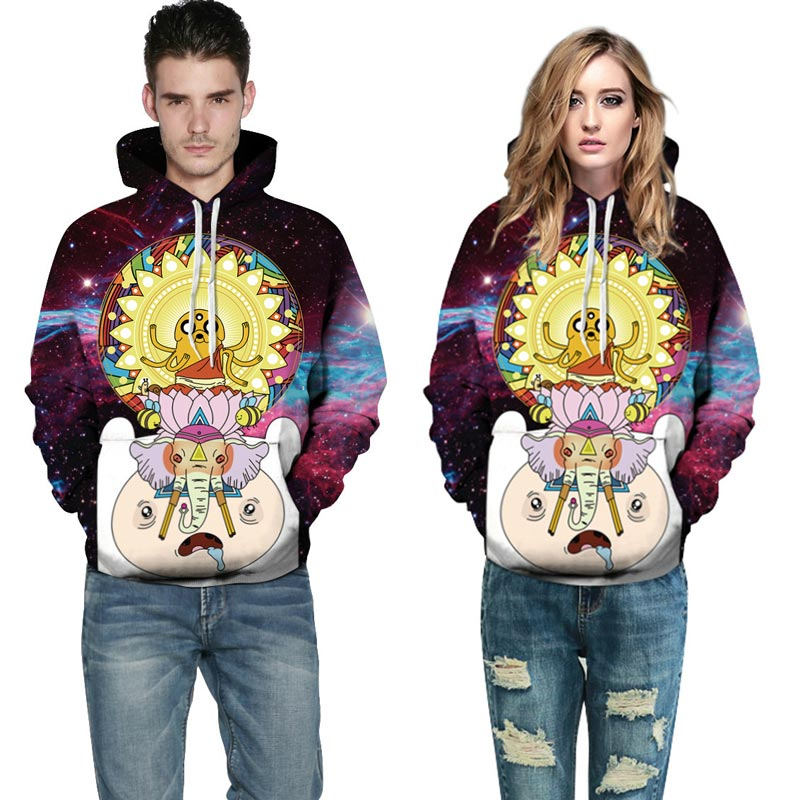 Space Galaxy Hoodies Men/Women 3d Sweatshirts Cartoon Space Galaxy Hoodies Men/Women HTBkvQXXXXXaZaXXXq6xXFXXXI