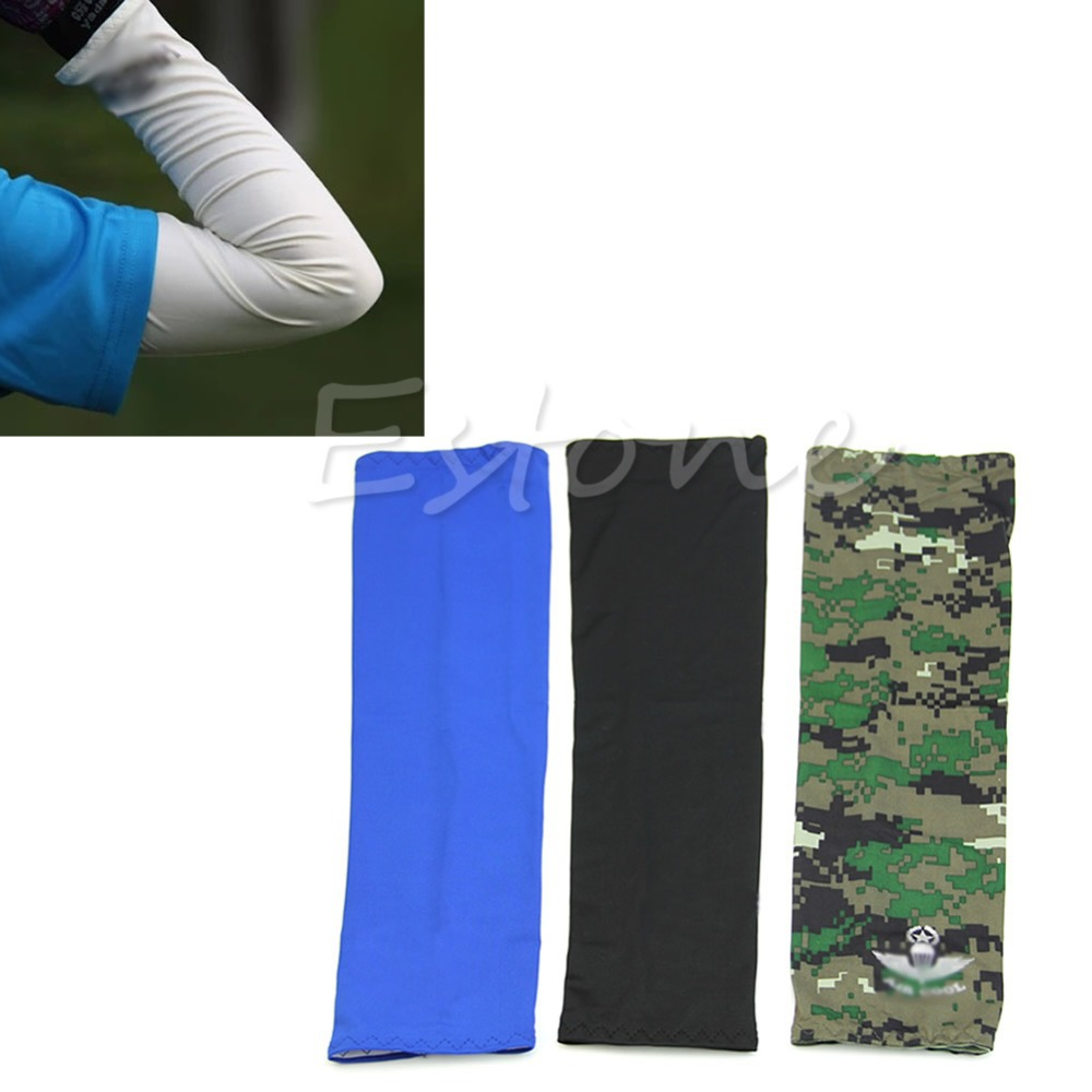 Driving gloves spf - Arm Sleeve Uv Sun Protection Cover Outdoor Cycling Driving Climbing Sports For Golf Basketball