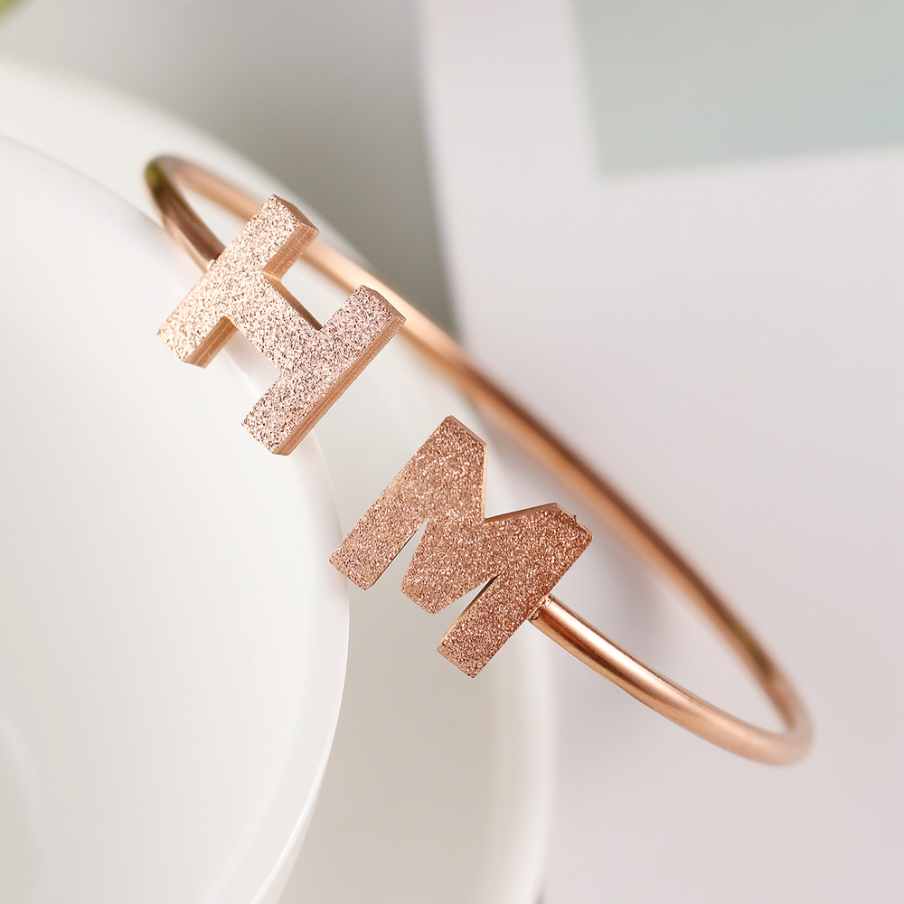 hannah martin Hot New Fashion stylish Cuff Opening Bracelet For Women Jewelry pulseira feminina pulseras Jewelry Bijoux Retro 5