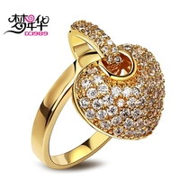 Unique Woven Design Women Party Jewelry AAA Quality Cubic Zirconia 378 Pieces Ladies Engagement Deluxe Finger