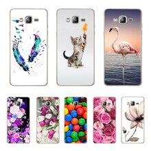 For Coque Samsung J3 2016 Case Soft Silicone Back Phone Cover TPU Galaxy J 3 Sm-j310f J310 Funda