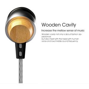Image 4 - Astrotec AM800 Holz Metall Design mit Anständige Sound in ohr kopfhörer holz metall kombination