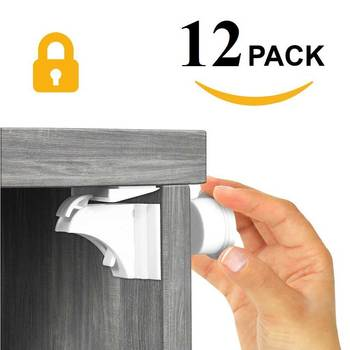 Magnetic Child Lock Baby Security Cabinet Locks Kids Drawer Locker Security Invisible Locks Children Protection Baby Safety Lock