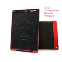 12 Inch LCD Writing Board Drawing Tablet Paperless Digital Notepad Portable Message Graphic Board Kids Gift