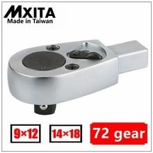 MXITA Open torque wrench insert ratchet head 9X12 14X18