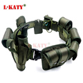 Marinho Verde Multifuncional Cinto Tático Cinto de Segurança As Políticas de Formação Guarda Utility Heavy Duty Combate Cintos 10 pçs/sets ZS10T02