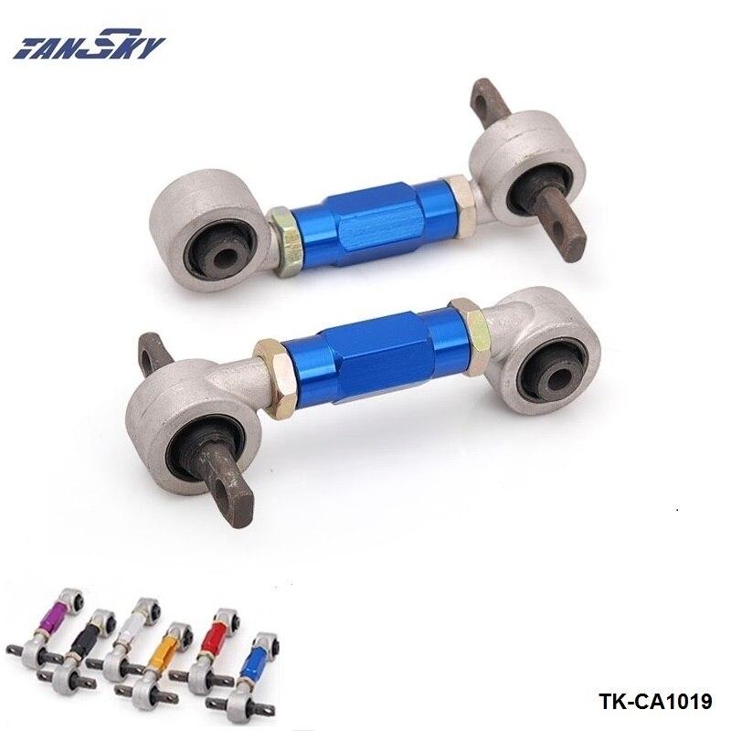 Prix pour TANSKY Arrière Camber KiT 10mm Trou pour Honda Civic EK/EG (argent, bleu, rouge, or, violet, noir) TK-CA1019