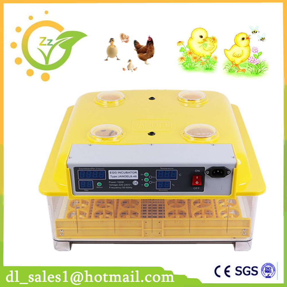 Automatic Mini Digital 48 Eggs Incubator For Hatching Chicken Duck Poultry Hatcher digital automatic egg incubator poultry hatcher chicken duck 48 eggs