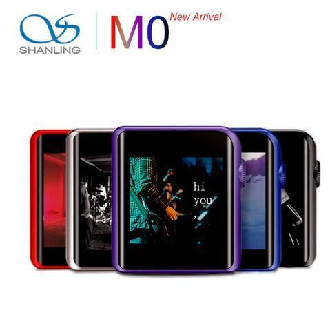 SHANLING M0 32bit /384kHz Bluetooth AptX LDAC DSD MP3 FALC Portable Music Player Hi-Res Audio