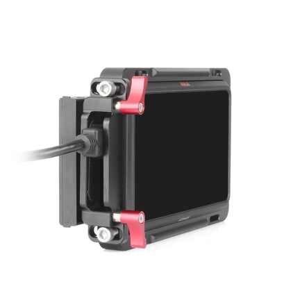 """Para Atomos Ninja V jaula 5 """"4 K HDMI grabación Monitor de forma de jaula con-en la OTAN rieles Cable HDMI"""