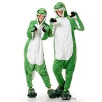 Green Snake Winter Pajamas For Women Men Warm Flannel Adult Homewear Loungewear Sleep Couple Animal Pyjamas