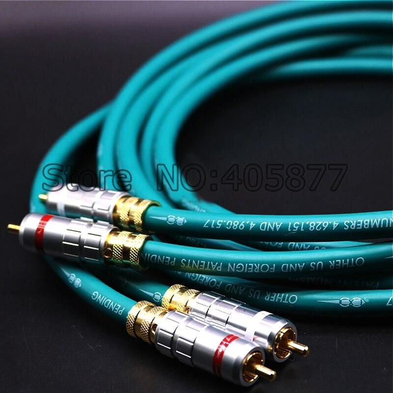 CARDAS croix RCA interconnexion câble Audio HIFI Audio câble RCA 1 M