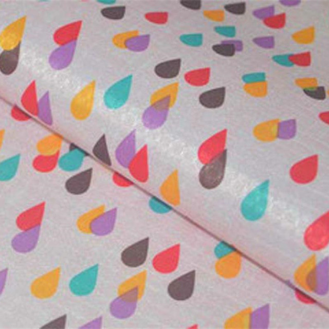 210D PVC Coated Waterproof Oxford Fabric Raindrop Handmade Patchwork PVC  DIY Tablecloth Bags Oilcloth Fabric