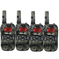 4pcs Retevis RT33 Walkie Talkie GMRS/FRS Scan VOX Call Tone CTCSS/DCS 22 CH 0.5W 462.5625-467.7250Mhz Flashlight For Kid A9117M