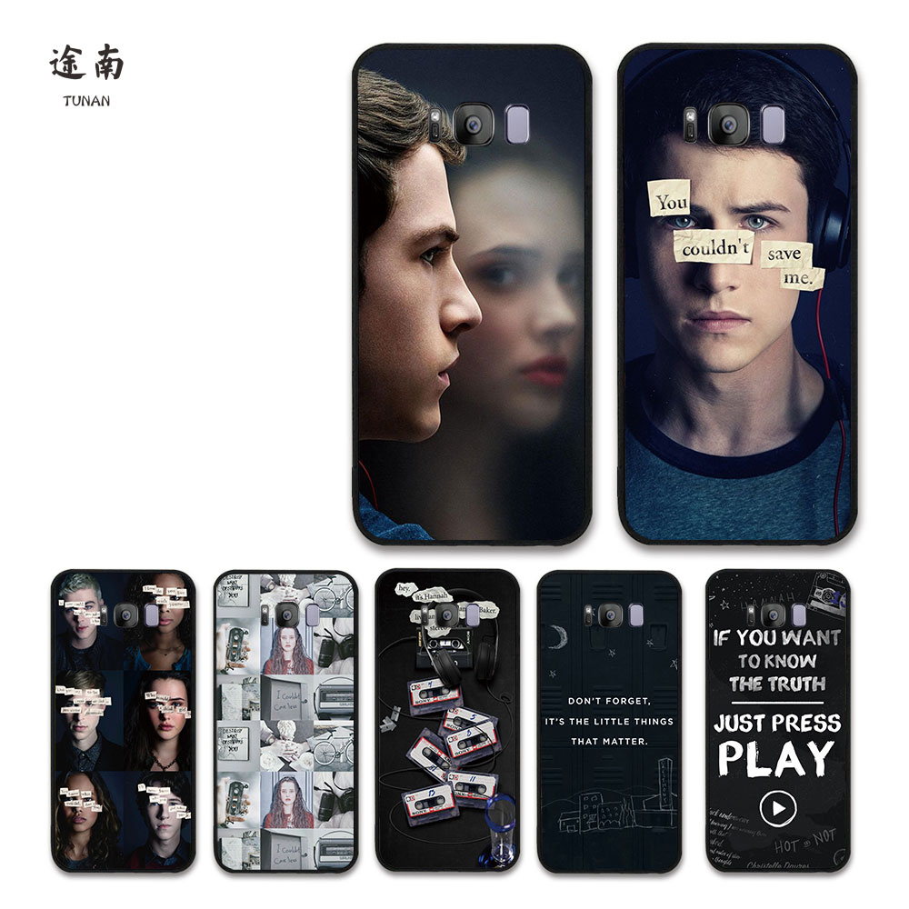 Luxury 13 Thirteen Reasons Why Cover for SamSung S8 S8 plus S7 edge J3 2015 2016 2017 A320 Europe Versions Phone Cases