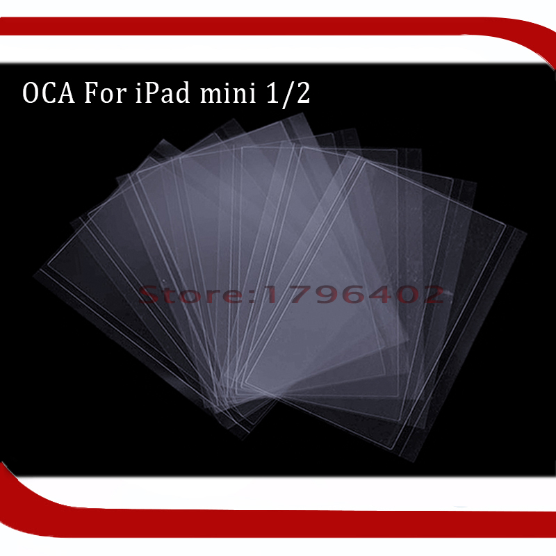 10pcs For Mitsubishi OCA Optical Clear Adhesive Glue Film for ipad mini 1/2/3/4 7.9 inch LCD Refurbish ...