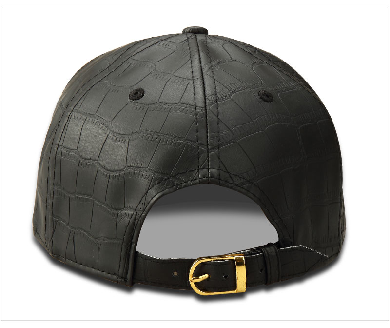 black snapback hat A_06