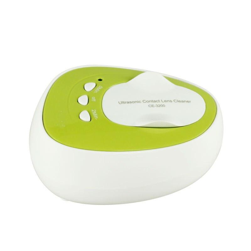 Vente chaude nettoyeur ultra sonique CE-3200 Mini lentille de contact à ondes sonores nettoyeur Ultra sonique pour lentille de contact frais d'expédition par USPS