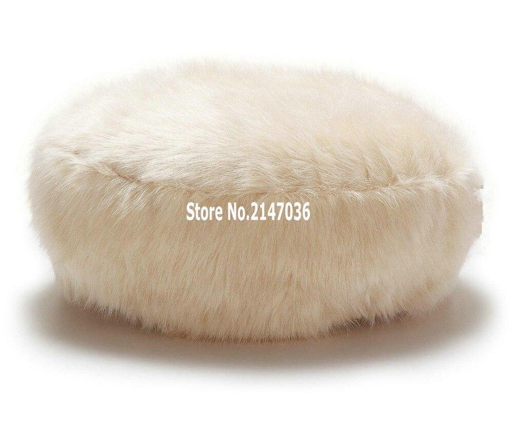 Sensational Us 80 0 Round Island Design Original Bean Bag Fur Lounger Elegant And High Warm Soft Beanbag Sofa Cushion In Bean Bag Sofas From Furniture On Ncnpc Chair Design For Home Ncnpcorg