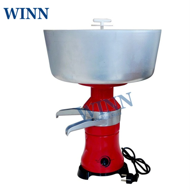 Electric Milk And Cream Separator Factory Outlet Fresh Milk Skimming Machine Centrifuge Cream Separator 80L/h  Creampurifier
