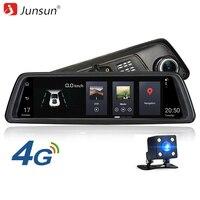Junsun K759 4G Car DVR Camera 10 Android 5 1 ADAS 1080P GPS Mirror Rearview Camera