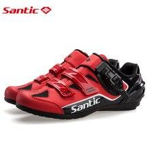 Santic obuwie rowerowe wspomagane energią buty terenowe obuwie rowerowe Sasual MTB sport Running Road Lock-free odporne na zużycie