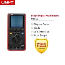 UNI-T UT81C LCD Rétro-Éclairage 16 MHz 80 MS/s Taux D'échantillonnage en Temps Réel USB Interface Portée DMM Multimètres Numériques