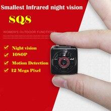 1080 P 12MP HD Mini Камера ночного видения за пределами няня Цифровой Micro Cam обнаружения движения camcordor Регистраторы инфракрасный Функция