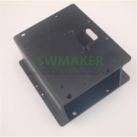 Swmaker x 캐리지 압출 x-carve 3d 조각 업그레이드 shapeoko 2 알루미늄 캐리지 nema17/23 모터 용