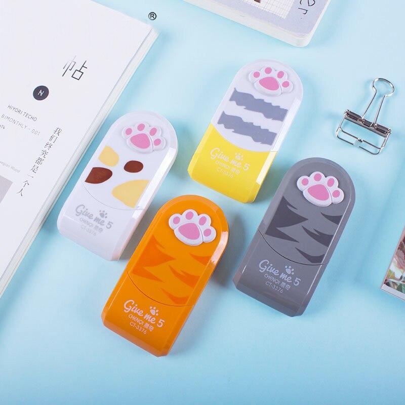 Cute Cartoon Creative Animal Cat-pad Correction Tape For Kids School Supplies Korean Stationery Student Gift Cinta Correctora