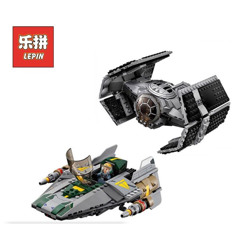 LEPIN 05030 Stars Series War Wing Fighter Alien Ship Set Model Building Blocks Bricks DIY Toys for Children Birthday Christmas black pearl building blocks kaizi ky87010 pirates of the caribbean ship self locking bricks assembling toys 1184pcs set gift