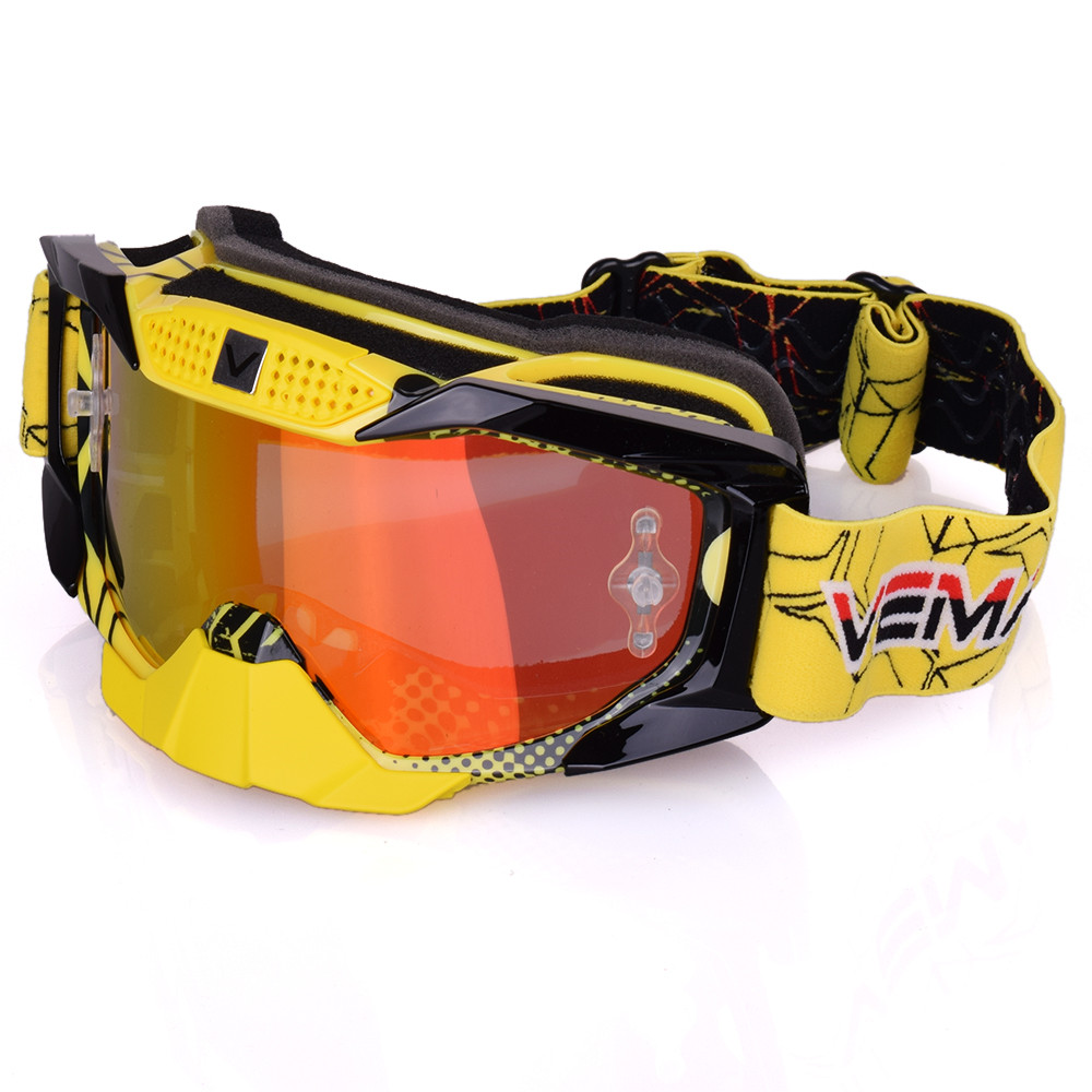 2017 Motocross Goggles Cross Country Skis Snowboard ATV Mask Oculos Gafas Motocross Motorcycle Helmet MX Goggles Glasses