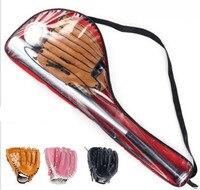 1 Set Healthy Sport Soft Baseball Bat Glove and Ball Set for Kids 25'' Softball Glove For Children Educational Sports