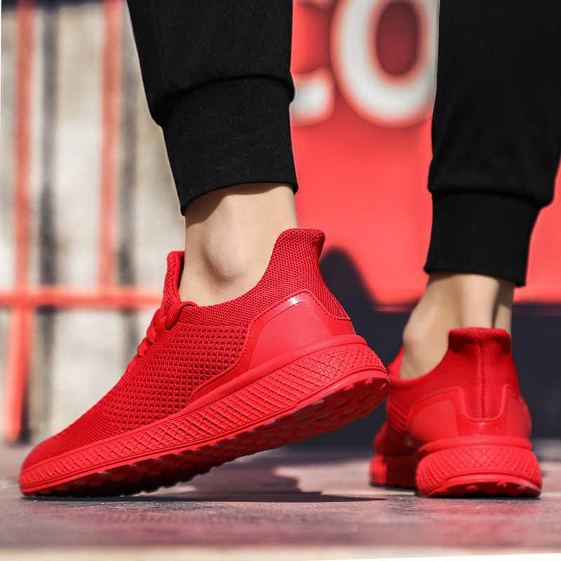 2019 yeni varış eğilim erkekler eğitmenler rahat erkek ayakkabısı spor koşu ayakkabıları yetişkin açık markaları ayakkabı büyük boy 39-46