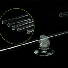 Аквариум висят на изгибе arcylic материал u-образная трубка воздушный камень насос CO2 диффузор разъем