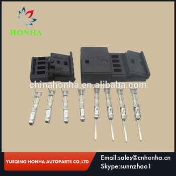 4Pin Female Male Central locking plug, atmosphere light connector,968813-1 C&0-1452576-1