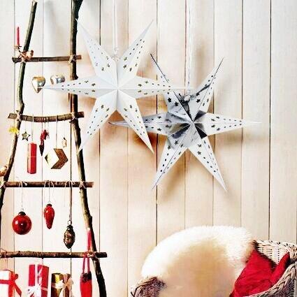 Aliexpress buy 1pc paper star lantern with 6 angle window 1pc paper star lantern with 6 angle window decor pretty paper ornaments wedding birthday showers nursary aloadofball Gallery