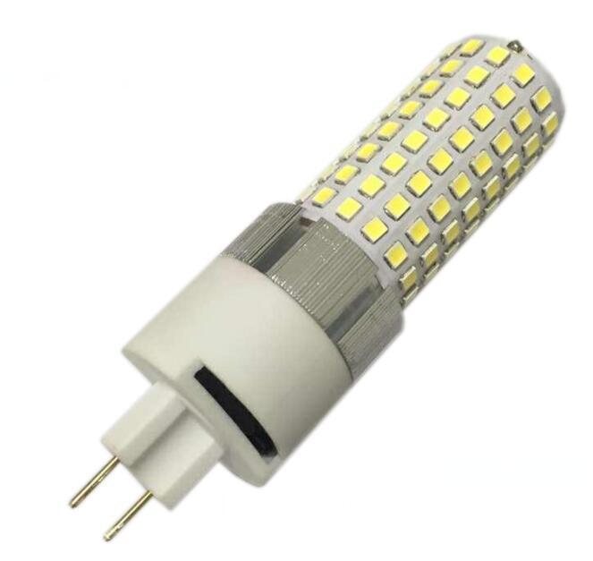 2 pcs/lot haute puissance 20 w G8.5 led ampoule de maïs lumière SMD2835 G8.5 led PL lampe remplacer G8.5 lampe halogène AC85-265V