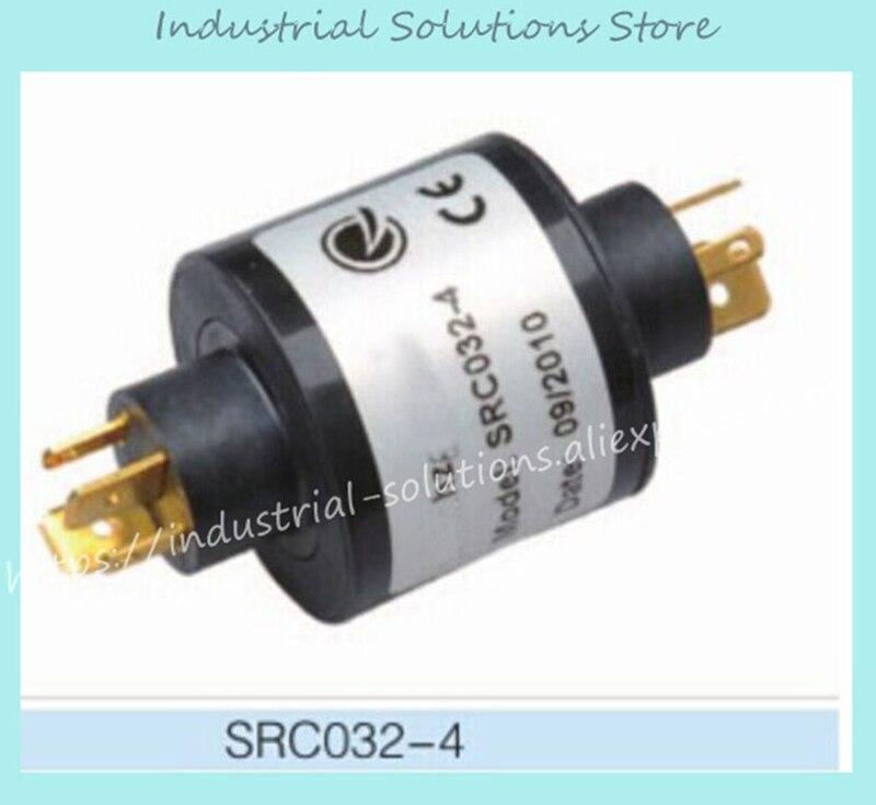 New Original SRC032 4 through bore slip ring 2A SRC032 4