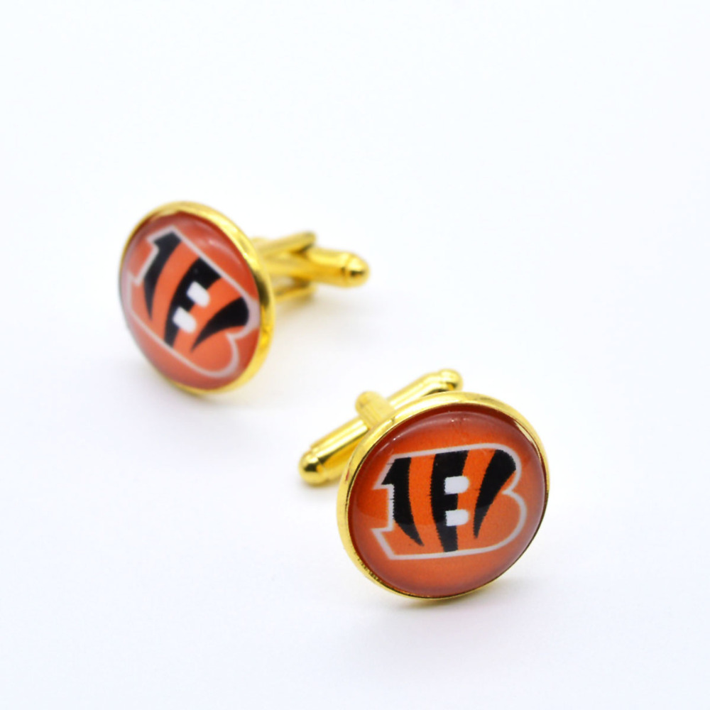 official photos edcf4 acf7d US $2.0  American football Seattle Seahawks Flag Charms Cufflink Cuff Link  Wholesale-in Tie Clips & Cufflinks from Jewelry & Accessories on ...