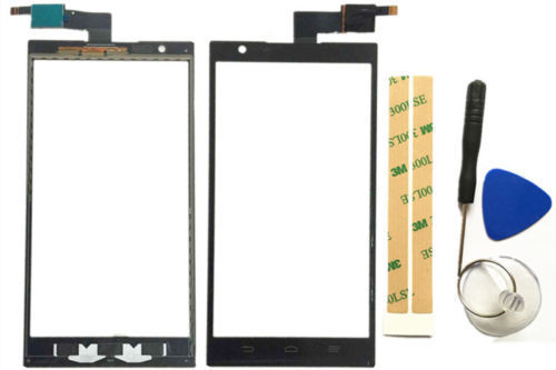 Vannego Black Touch Screen Digitizer Glass Lens Replacement For ZTE ZMAX Z970