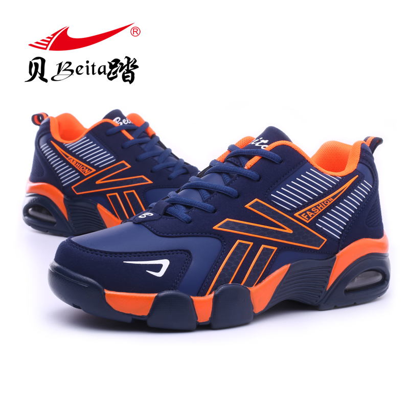 BEITA  Brand New Winter Sports Shoes Warm Air Cushion Running Shoes For Men 2016 Leisure Sneakers Men size EU39-44 camssoo new running shoes men soft footwear classic men sneakers sports shoes size eu 39 44 aa40375