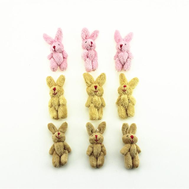 Adorable 1/12 Doll House Miniature Rabbit Doll