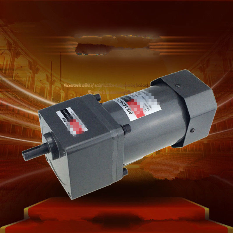 Single Phase 220V AC Vertical Micro Gear Motor Speed 140W 6IK140GU Constant Speed High Torque ac220v90w 0 500rpm 2m90gn c single phase speed decelerating gear motor suitable for mechanical equipment power tools diy etc