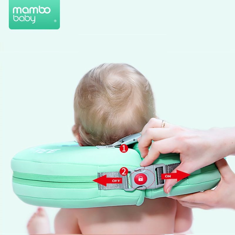 Solide Baby Schwimmen Neck Ring Baby-Neck Float Flot Adores Para Piscina Schwimmen Trainer Infant Neck Float Baby Schwimmen Zubehör