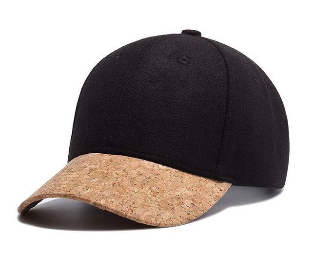 Black Patchwork Wool Baseball Caps Blank Hiphop Hat Bone Snapback Cap For  Men Women Gorra Casquette 9b4282f6922