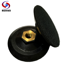 4JT Wholesale 4/ 100mm Rubber backer pads/holder pads/back up for polishing pads/rubber connetor